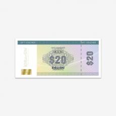 코닷싱 상품권 $20