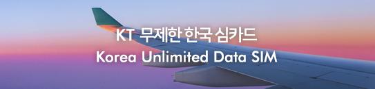 KT무제한 한국 심카드